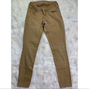 Old Navy - Tan Rockstar Jeans